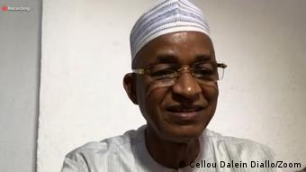 Screenshot auf Zoom | PK Oppositionsführer Cellou Dalein Diallo aus Guinea