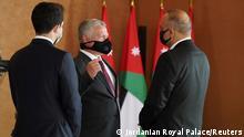 Jordanien Amman König Abdullah bei Amtseid der neuen Regierung