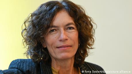 Deutscher Buchpreis 2020 an Anne Weber (Arne Dedert/dpa/picture alliance)