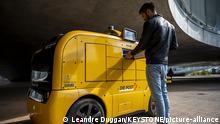 Schweiz Automatisiertes Fahrzeug der EPFL