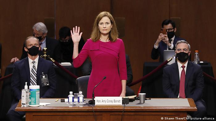 US justice Amy Coney Barrett