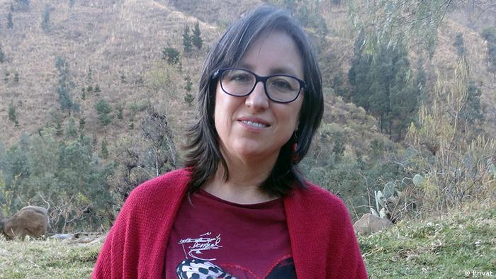 Gabriela Canedo, socióloga y antropóloga de la Universidad Mayor de San Simón, en Cochabamba.