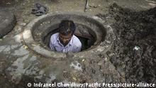 Indien I Jantar Mantar I Kanalisation
