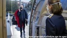 Deutschland Berlin Heiko Maas auf dem Weg nach Zypern und Griechenland