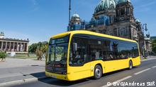 Deutschland Elektrobusse in Berlin