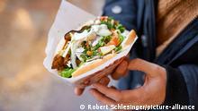 Шаурму без мяса можно купить во многих закусочных в Германии