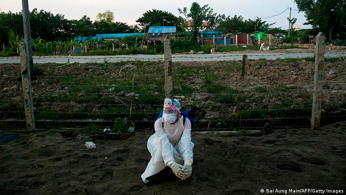 中国官方已经承诺向受新冠疫情影响的缅甸提供至少250万剂疫苗(资料图片)