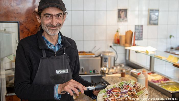 В закусочной Vegöner в баварском Нюрнберге