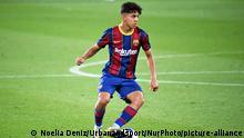 Fußball Barcelona   Ilias Akhomach