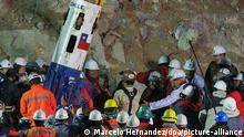 Zehn Jahre nach der Rettung von 33 Bergleuten in Chile