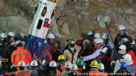 El rescate de los mineros tuvo lugar 69 días después del accidente.