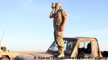 Libyen Tripolis Kämpfer