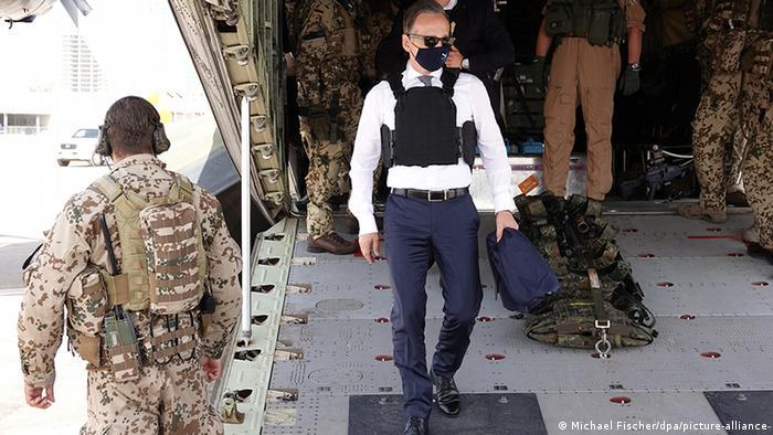 وزير خارجية ألمانيا، هايكو ماس يصل إلى ليبيا في أغسطس/ آب 2020