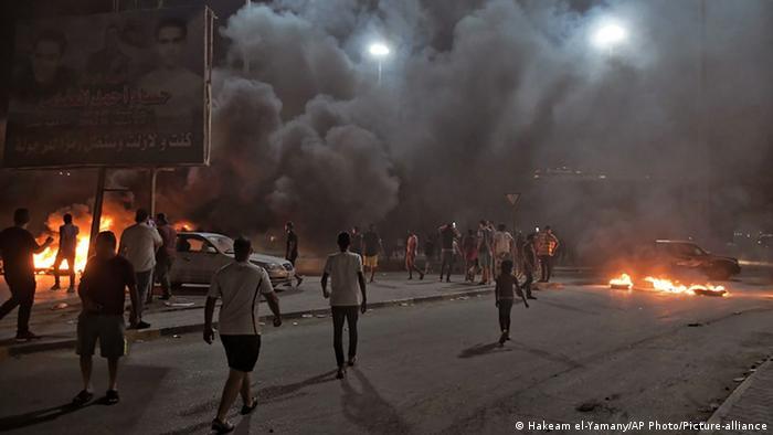 احتجاجات شعبية في بنغازي بسبب ظروف المعيشة الصعبة (سبتمبر/ أيلول 2020)