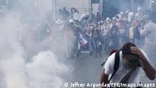 Costa Rica Protesten gegen IWF-Abkommen