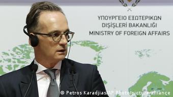 Bundesaußenminister Maas in Griechenland und Zypern (Petros Karadjias/AP Photo/picture-alliance)