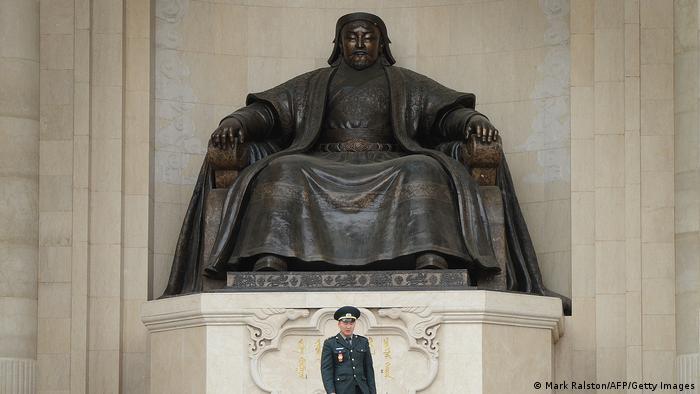 Statue I Dschingis Khan I Genghis Khan (Mark Ralston/AFP/Getty Images)