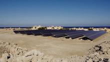 Ägypten Solarenergie wird in entlegene Gebiete Ägyptens gebracht
