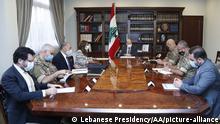 Libanon, Beirut I Präsident Michel Aoun