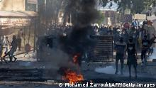 Tunesien Proteste in Sbeitla