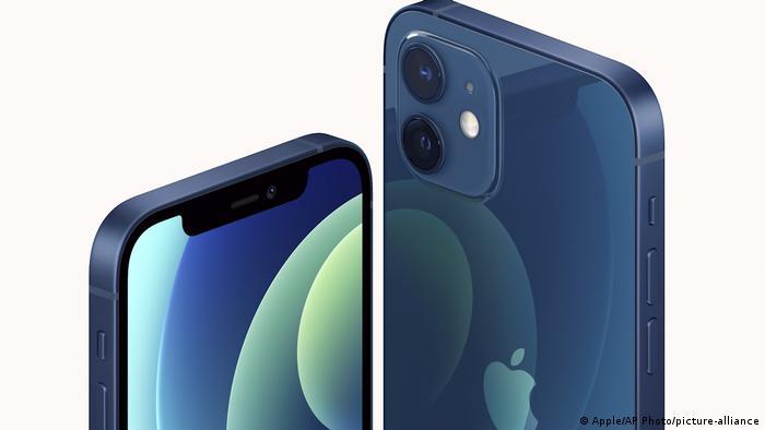 El teléfono iPhone 12