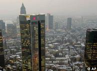 Edificios de bancos en Fráncfort del Meno, el centro financiero alemán: el tema desatará controversias.