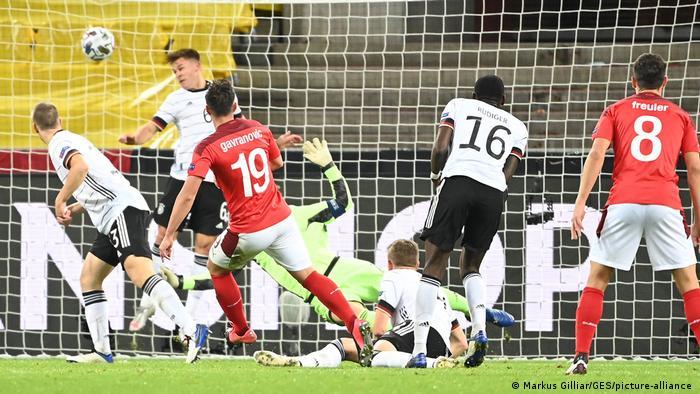 Fussball I UEFA Nations League I Deutschland - Schweiz (picture alliance / GES/Markus Gilliar)
