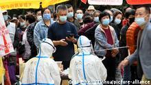 China Qingdao Coronavirus Massentest