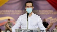 Venezuela Juan Guaido Pressekonferenz