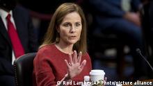 USA I Senat Anhörung Amy Coney Barrett