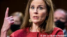 USA I Senat Anhörung Amy Coney Barrett (Jim Lo Scalzo-Pool/AFP)