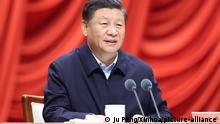 China Präsident Xi Jinping (Ju Peng/Xinhua/picture-alliance )