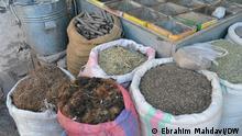 Afghanistan Säcke von verschiedenen medizinischen Pflanzen