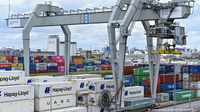 Порт в Маннгейме