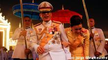 Thailand Bangkok | König Maha Vajiralongkorn & Königin Suthida
