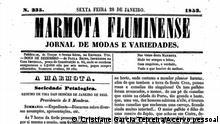 Brasilien - Marmota Fluminense Zeitung