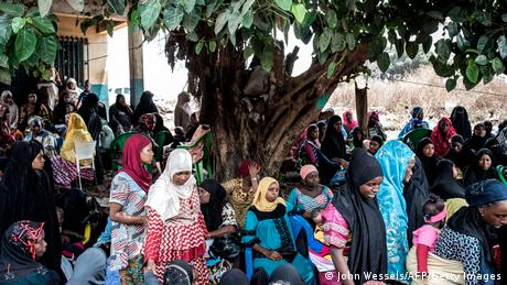 Guinea Conakry   Proteste   Frauen gehen auf die Straße