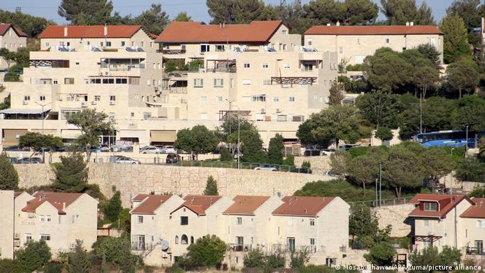 Vista de un asentamiento israelí en Cisjordania.