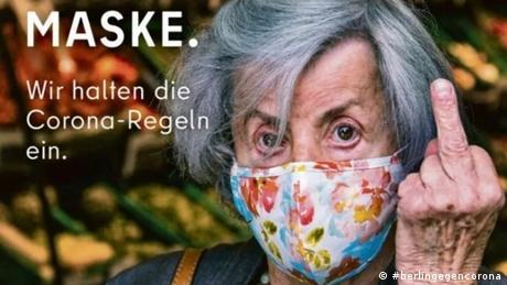 #berlingegencorona Kampagne Senat Berlin Maskenverweigerer (#berlingegencorona)
