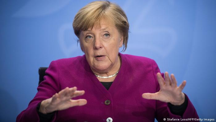 Berlin, PK Merkel Sitzung Ministerpräsidenten Coronamaßnahmen