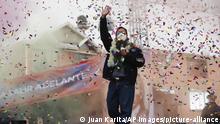 Bolivien El Alto | Wahlkampf Luis Arce