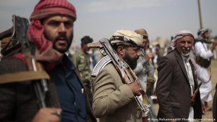 Yemen Huthi Kämpfer
