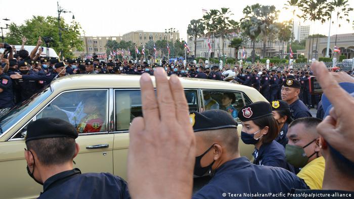 Thailand Bangkok |Anti-Regierungsproteste (Teera Noisakran/Pacific Press/dpa/picture-alliance)