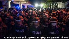 Thailand Bangkok |Anti-Regierungsproteste
