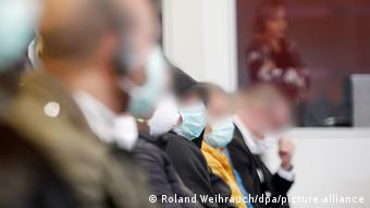 В зале суда на слушании дела о торговле наркотиками и связям с итальянской мафией