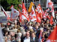 2010年5月1日德国工会联合会发起的示威游行