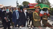Afghanistan Beerdigung von ANA-Soldaten