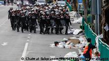 Thailand Bangkok | Anti-Regierungsproteste | Polizei