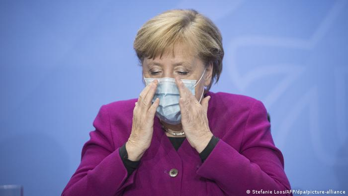 Bundeskanzlerin Angela Merkel (Foto: Stefanie Loos/AFP/dpa/picture-alliance)