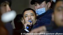 Kirgisistan I Proteste in Bishkek